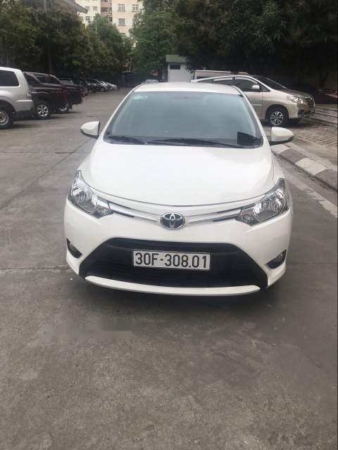 Bán xe Toyota Vios E CVT 2017, màu trắng, số tự động -2