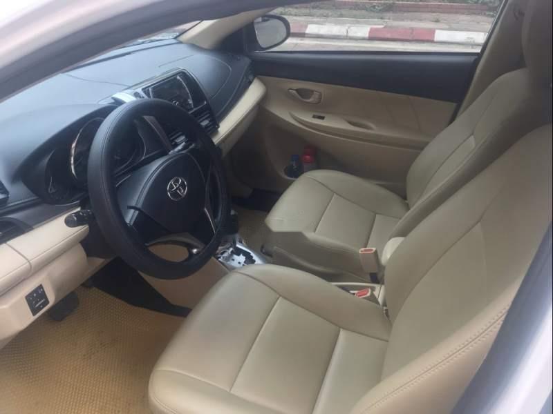 Bán xe Toyota Vios E CVT 2017, màu trắng, số tự động -3