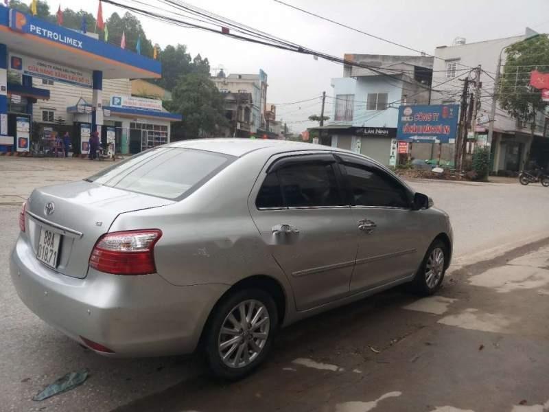 Cần bán gấp Toyota Vios E đời 2012, màu bạc, 1 chủ tù đầu-2