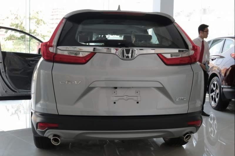 Bán Honda CR V đời 2019, màu bạc, xe nhập-4