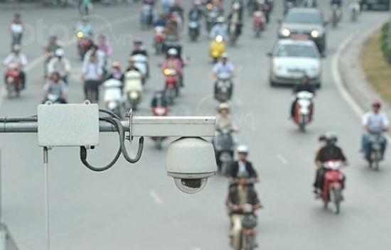 Hàng loạt tuyến đường đã được lắp đặt camera phạt nguội tại Hà Nội...