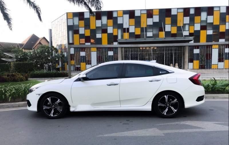 Bán Honda Civic đời 2017, màu trắng, nhập khẩu  -1