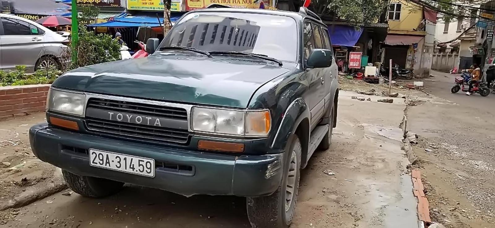 Chính chủ bán Toyota Land Cruiser đời 1996, màu xanh lam, nhập khẩu (1)