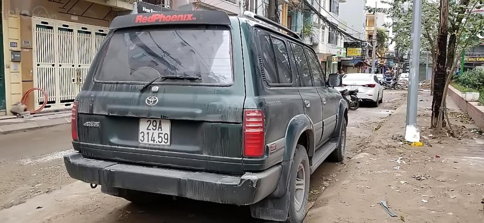 Chính chủ bán Toyota Land Cruiser đời 1996, màu xanh lam, nhập khẩu (2)