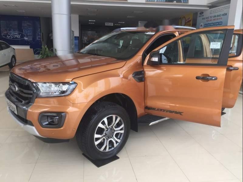 Bán Ford Ranger năm sản xuất 2018, màu nâu, nhập khẩu-2
