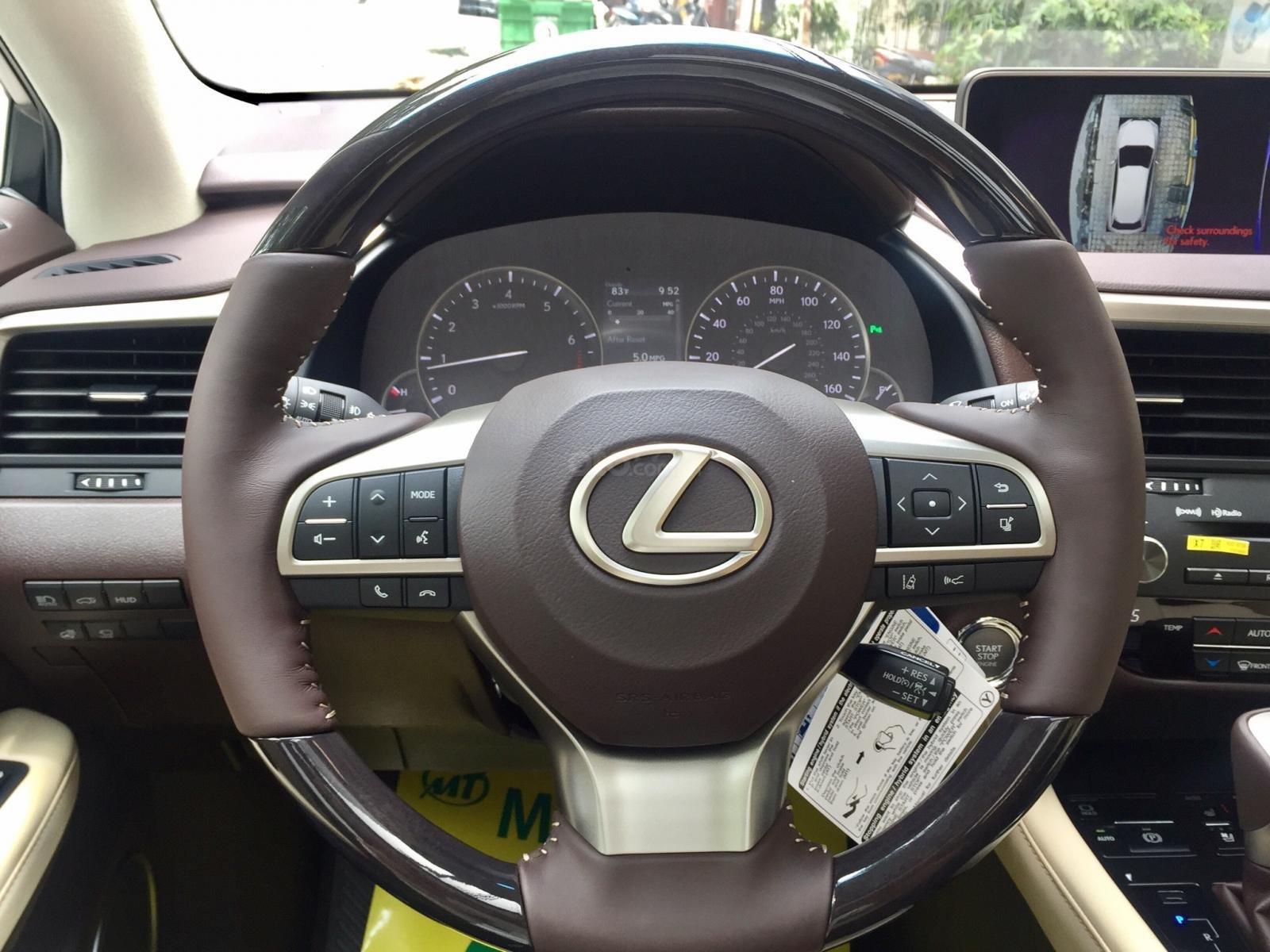 Cần bán xe Lexus RX350 2018 Luxury 05 chỗ mới, nhập Mỹ, full option. Lh 093.798.2266-19