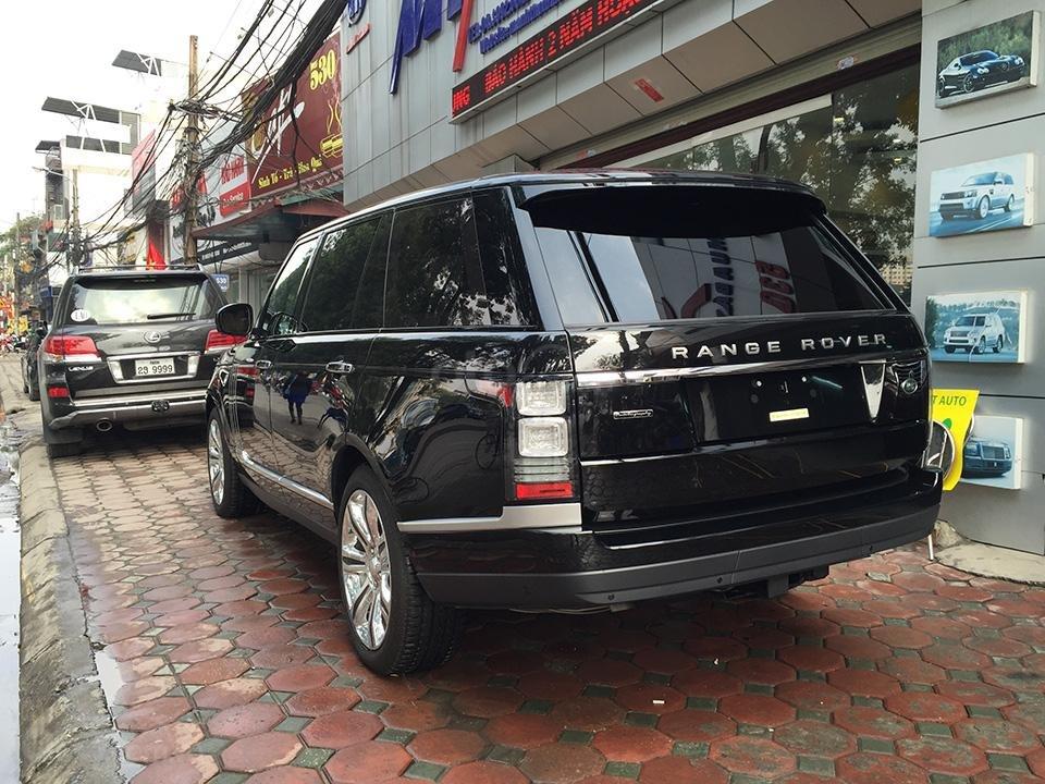 Cần bán xe Range Rover Autobiography LWB Black Edition 5.0 có 2 bàn làm việc, LH 093.798.2266-5