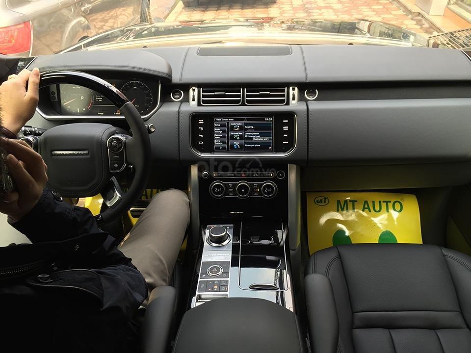 Cần bán xe Range Rover Autobiography LWB Black Edition 5.0 có 2 bàn làm việc, LH 093.798.2266-10
