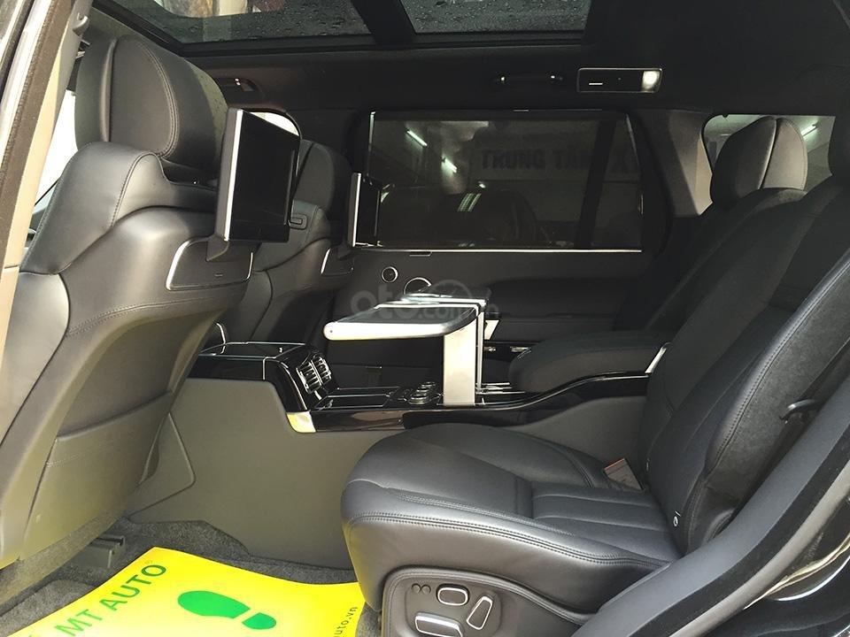 Cần bán xe Range Rover Autobiography LWB Black Edition 5.0 có 2 bàn làm việc, LH 093.798.2266-7