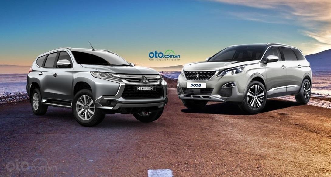 So sánh Mitsubishi Pajero Sport 2019 và Peugeot 5008 2019...