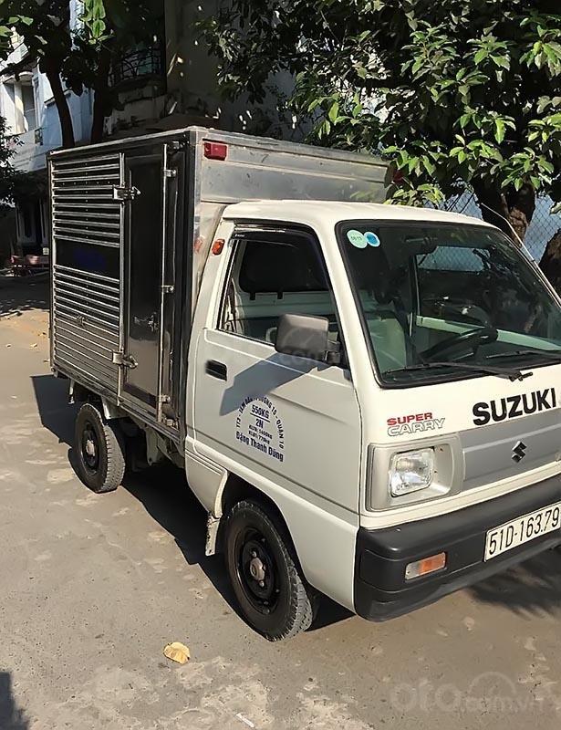 Bán Suzuki Super Carry Truck năm 2017, màu trắng (1)