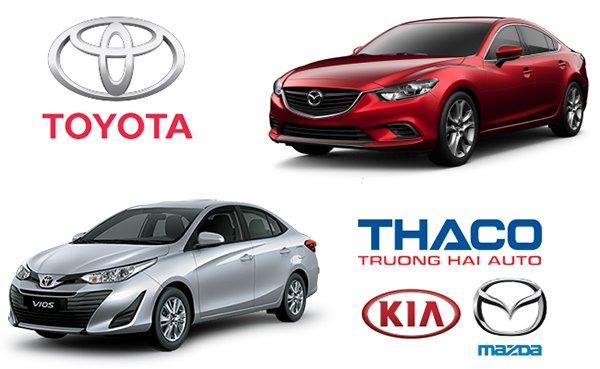 Thị phần ô tô tháng 2/2019, Trường Hải tăng trưởng, Toyota hụt hơi a1