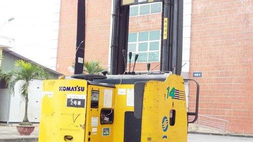 Bán xe nâng hàng, hiệu Komatsu, động cơ điện, model FB14RS-12 (4)