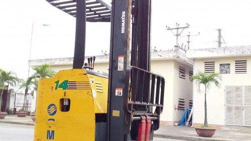 Bán xe nâng hàng, hiệu Komatsu, động cơ điện, model FB14RS-12 (2)