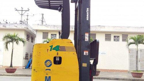 Bán xe nâng hàng, hiệu Komatsu, động cơ điện, model FB14RS-12 (6)