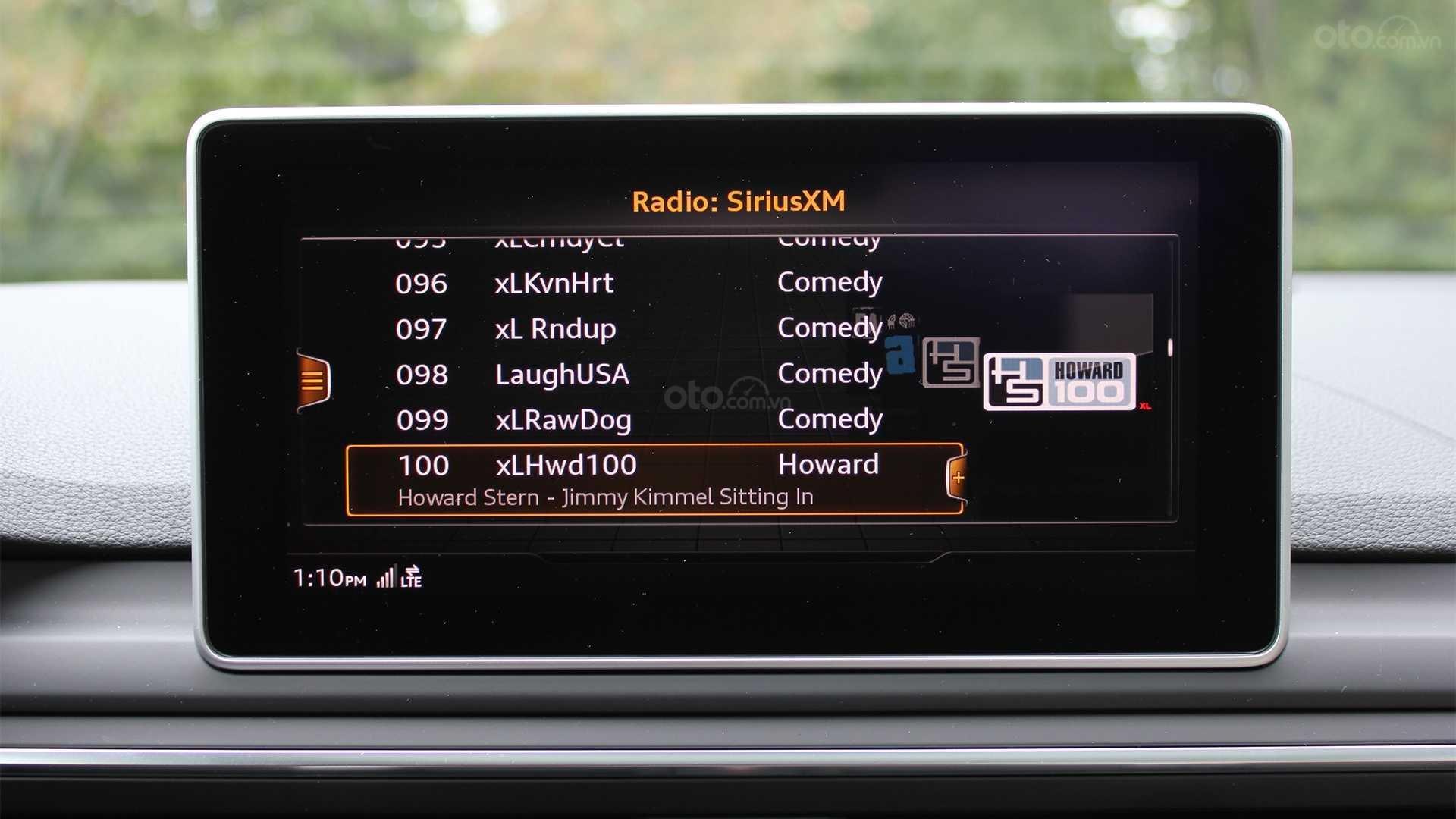 Đánh giá xe Audi A5 2019 - màn hình chính