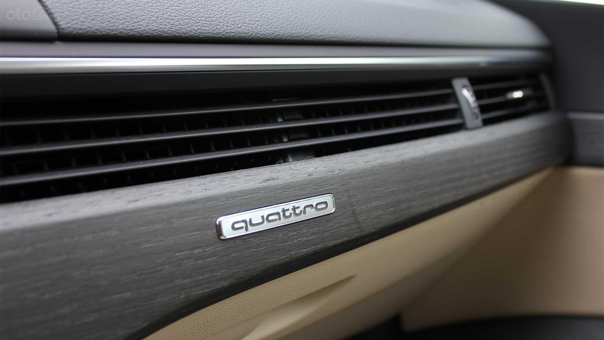 Đánh giá xe Audi A5 2019 - khe điều hòa