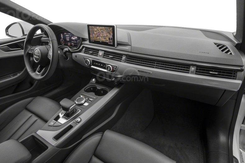 Đánh giá xe Audi A5 2019 - cabin