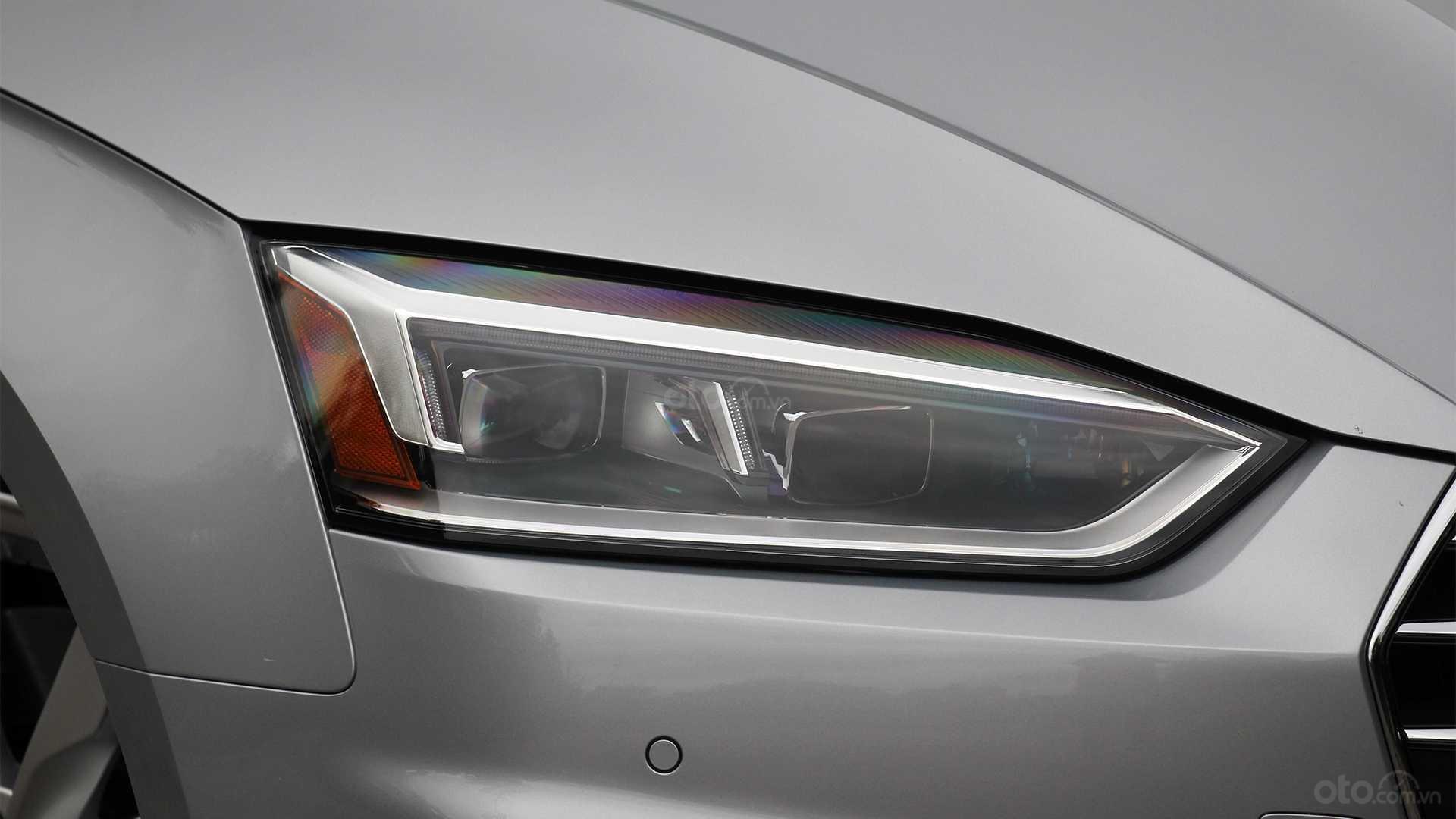 Đánh giá xe Audi A5 2019 - đèn trước