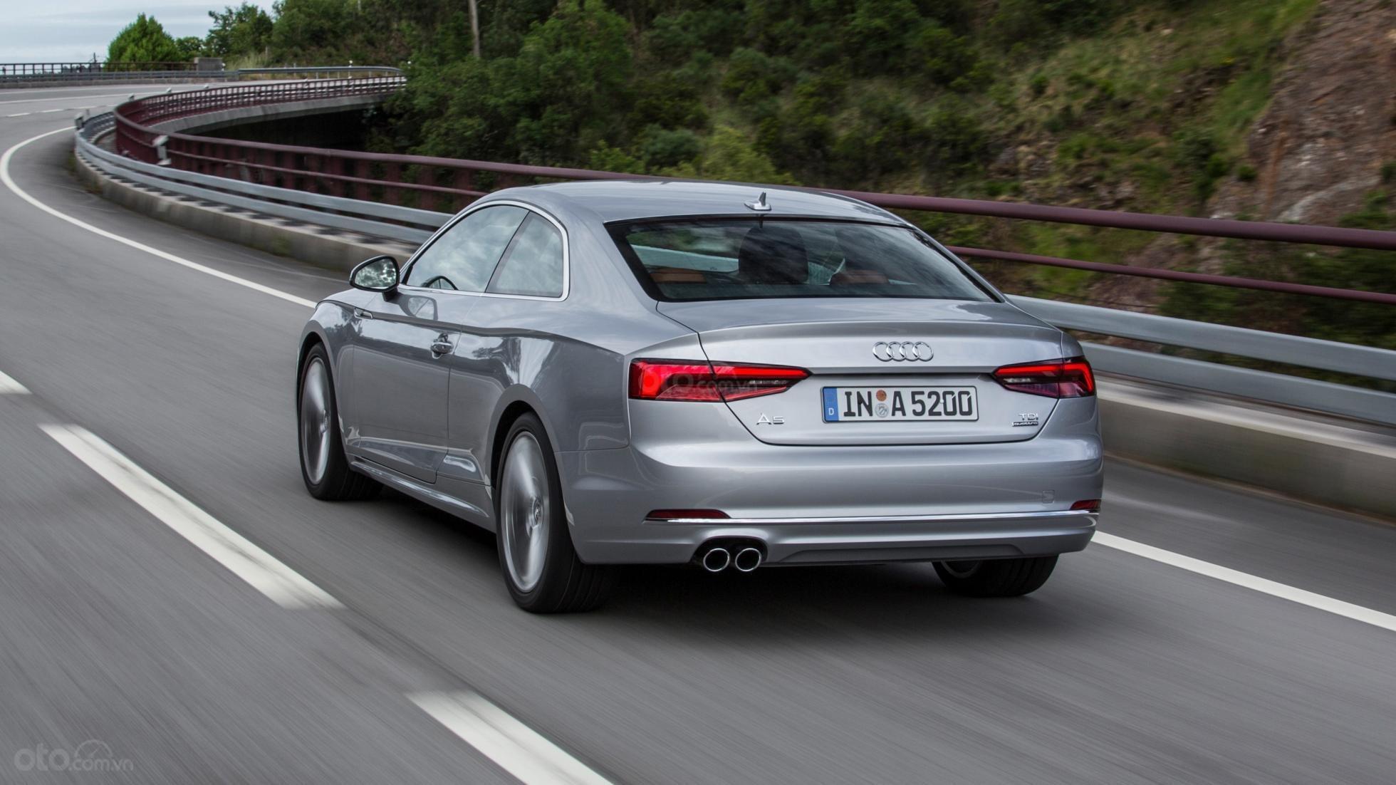 Đuôi xe Audi A5 2019