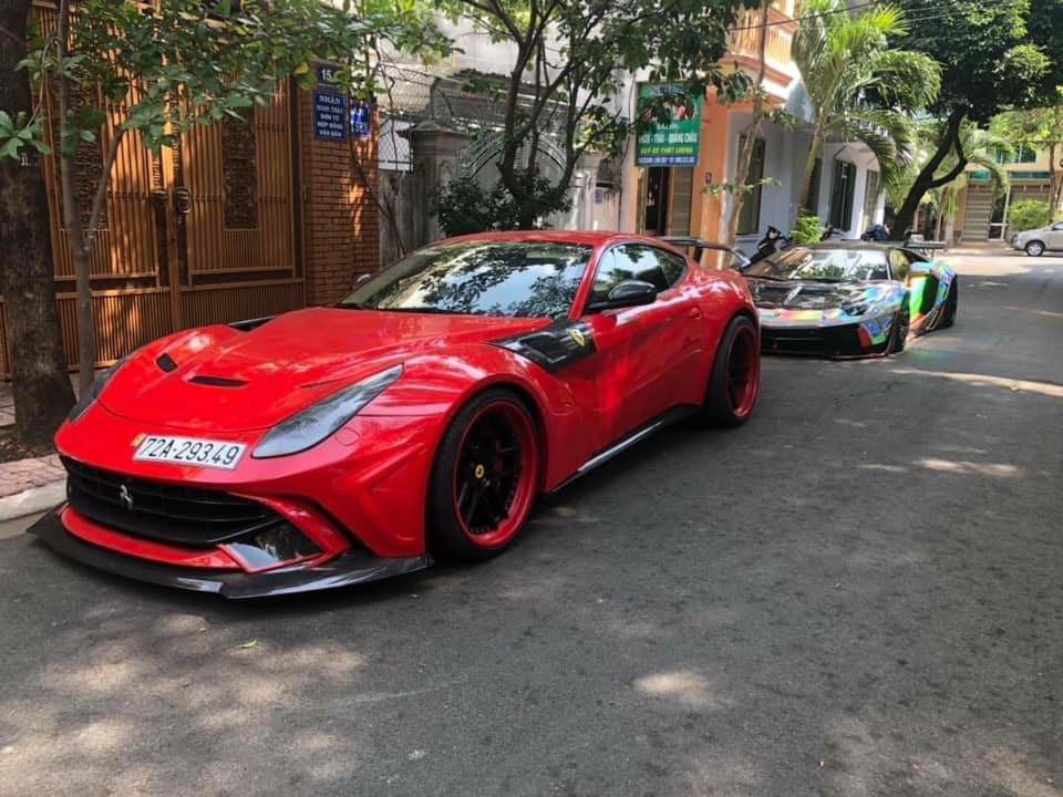 Siêu xe Ferrari F12 Berlinetta