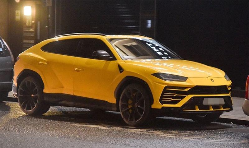 Lamborghini Urus của ngôi sao CLB Liverpool