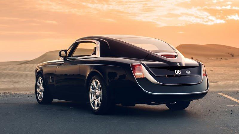 Roll-Royce Sweptail trị giá 13 triệu USD