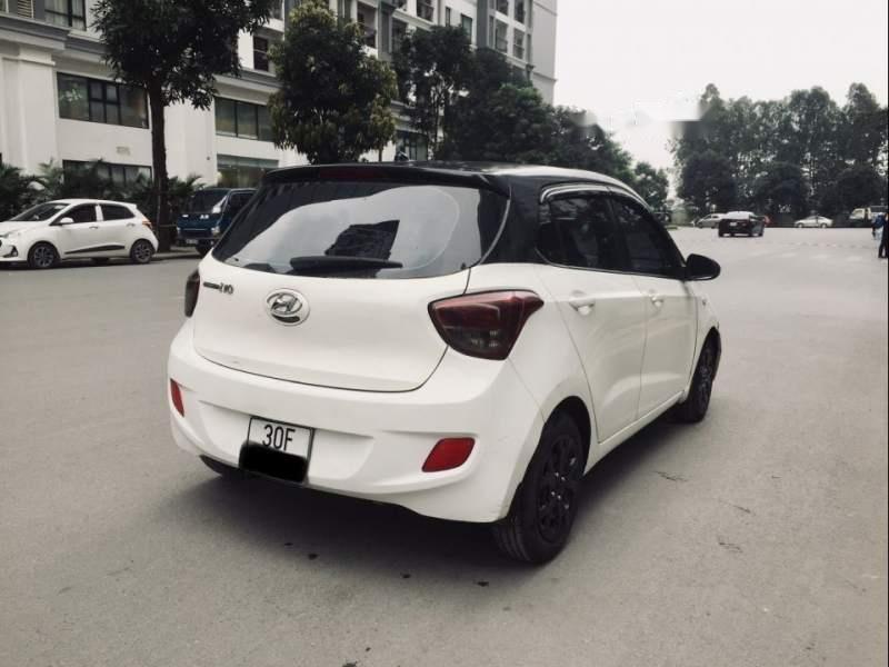 Cần bán xe Hyundai Grand i10 đời 2014, màu trắng, xe nhập-2