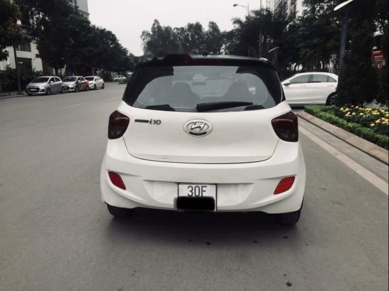 Cần bán xe Hyundai Grand i10 đời 2014, màu trắng, xe nhập-3