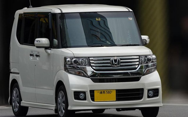 Honda N-Box tại Nhật Bản