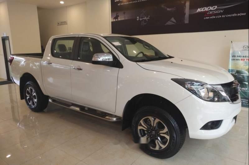 Bán xe Mazda BT 50 đời 2019, màu trắng, xe nhập, 585tr (2)