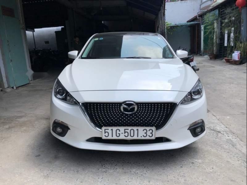 Cần bán lại xe Mazda 3 sản xuất năm 2016, màu trắng chính chủ-1
