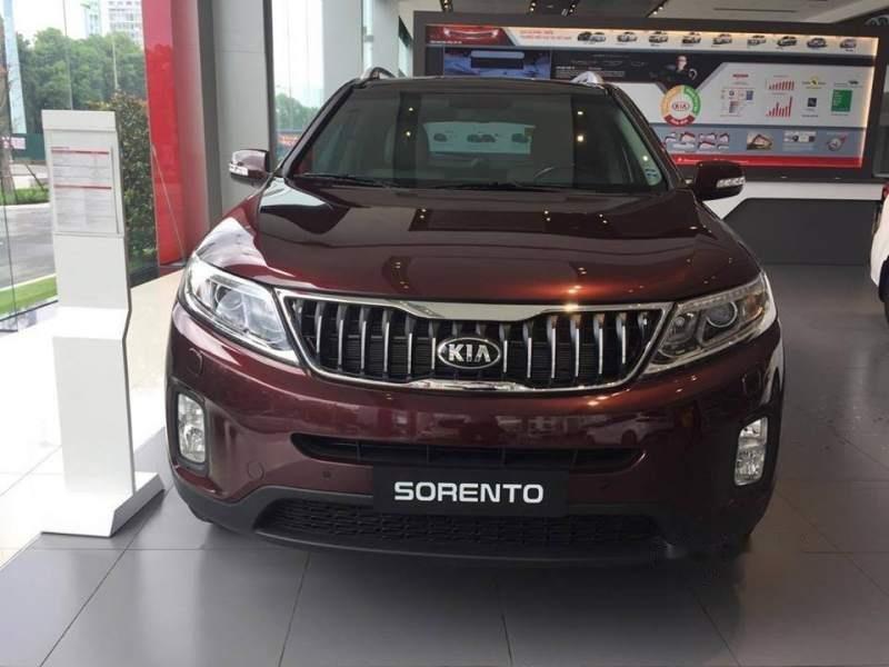 Cần bán xe Kia Sorento sản xuất năm 2019, màu đỏ, giá 799tr-1