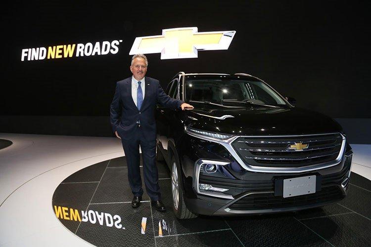 Ngoại thất xe Chevrolet Captiva 2019