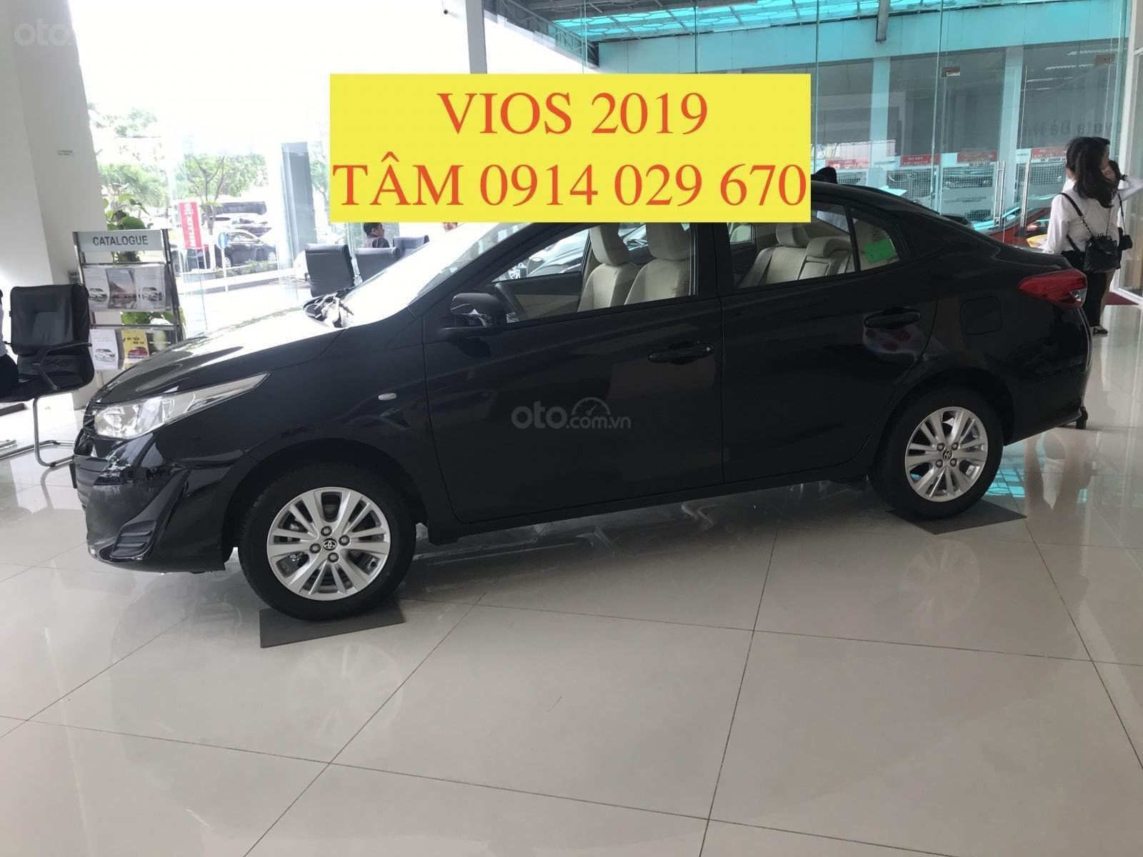 Bán Toyota Vios 2019 giá rẻ nhất thị trường, giao xe ngay, hỗ trợ vay 80% - LH 0914 029 670 (Tâm) (1)