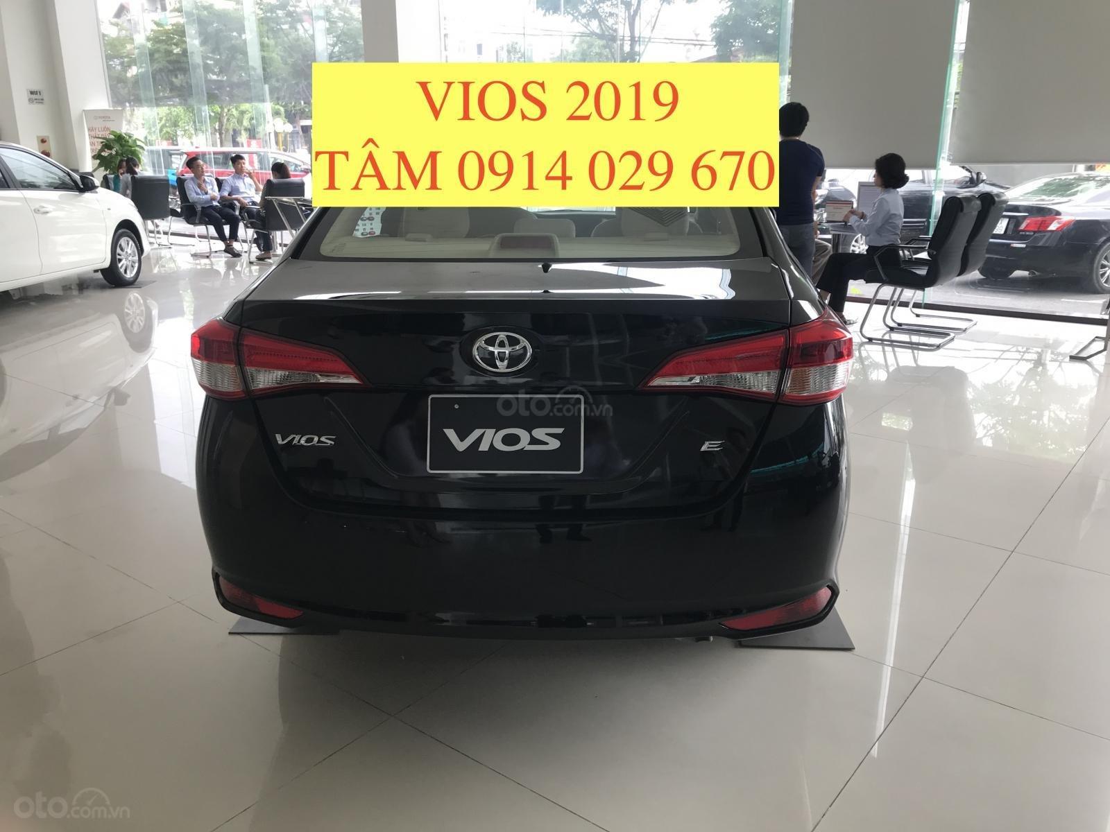Bán Toyota Vios 2019 giá rẻ nhất thị trường, giao xe ngay, hỗ trợ vay 80% - LH 0914 029 670 (Tâm) (3)