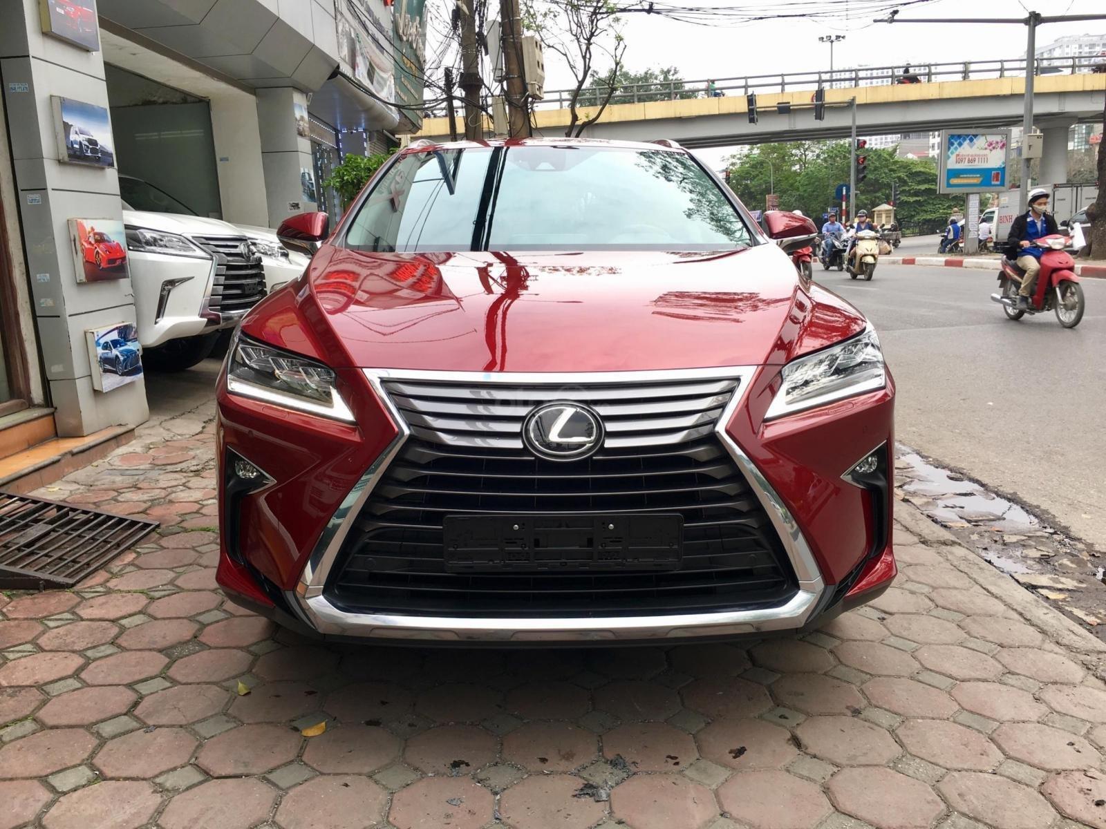 MT Auto bán xe Lexus RX 200t sx 2016, màu đỏ mới 100% giá cực rẻ, hỗ trợ 2 tỷ, LH em Hương 0945392468-0