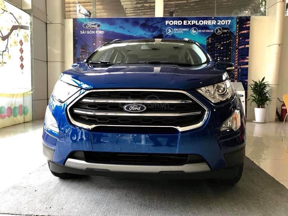 Bán ô tô Ford EcoSport Titanium đời 2019, đủ màu giao liền-0