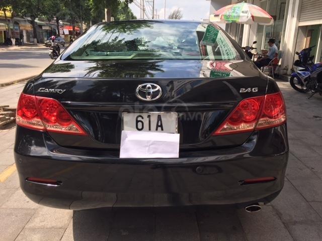 Cần bán xe Toyota Camry 2.4G đời 2008, màu đen-4