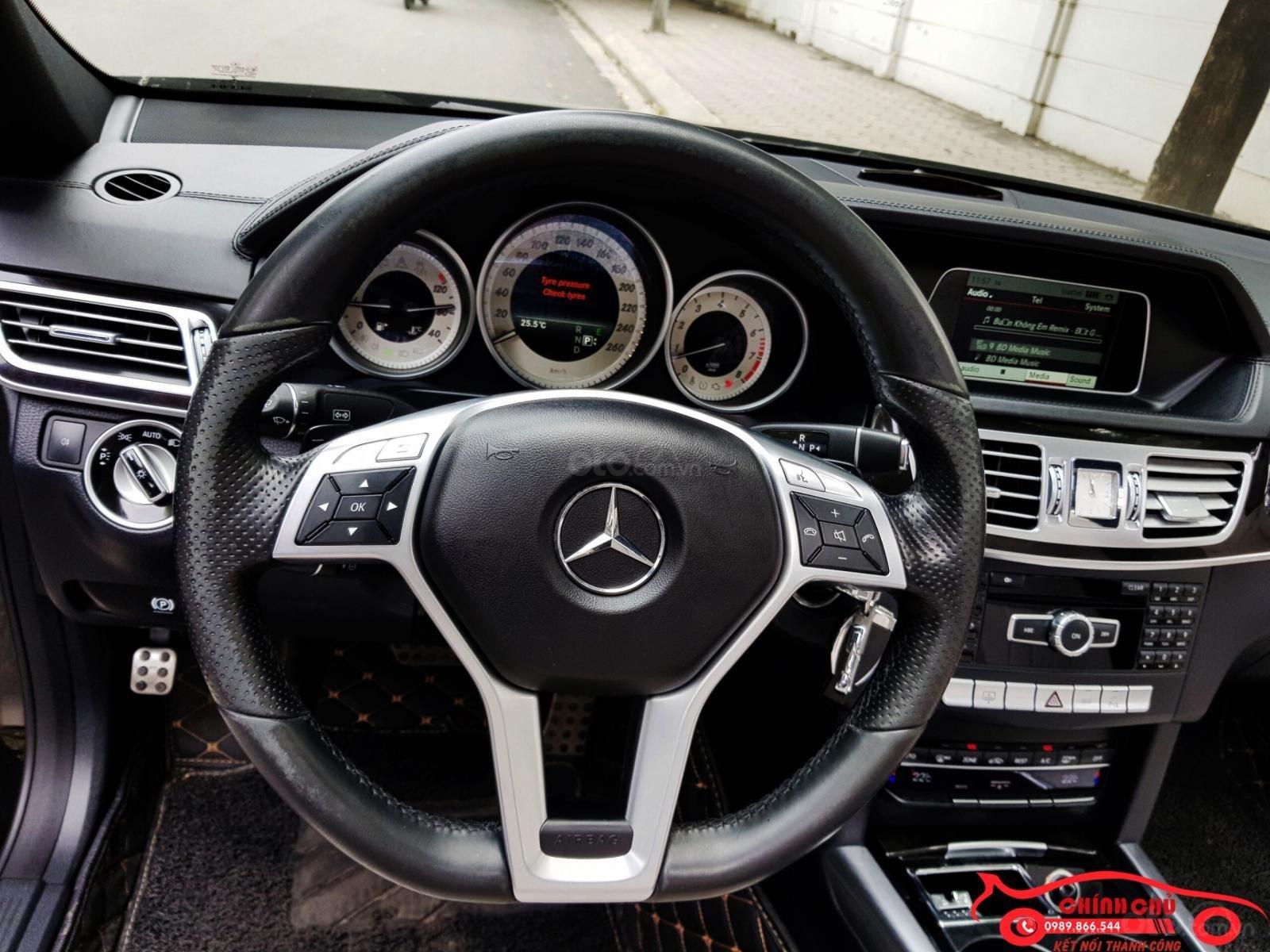Bán Mercedes E250 AMG đời 2016, màu đen, nội thất kem cực mới, giá 1,4xx triệu (4)
