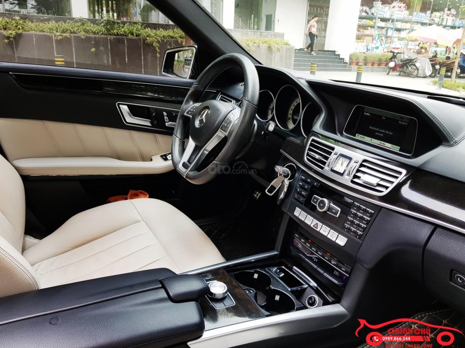 Bán Mercedes E250 AMG đời 2016, màu đen, nội thất kem cực mới, giá 1,4xx triệu (10)