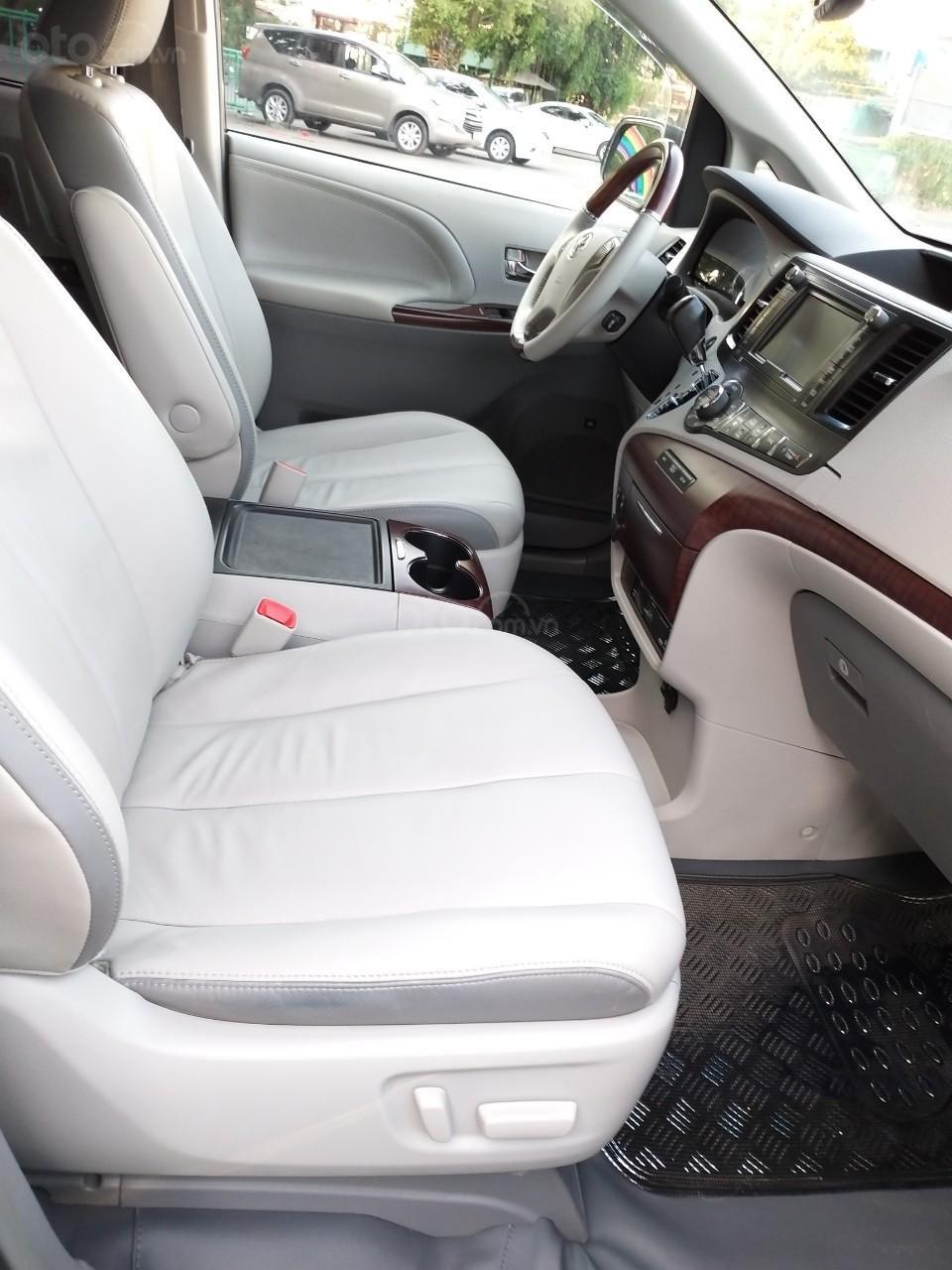 Toyota Sienna hàng Limited model 2014, màu xám, nhập khẩu, cực mới, 2tỷ 490tr-4