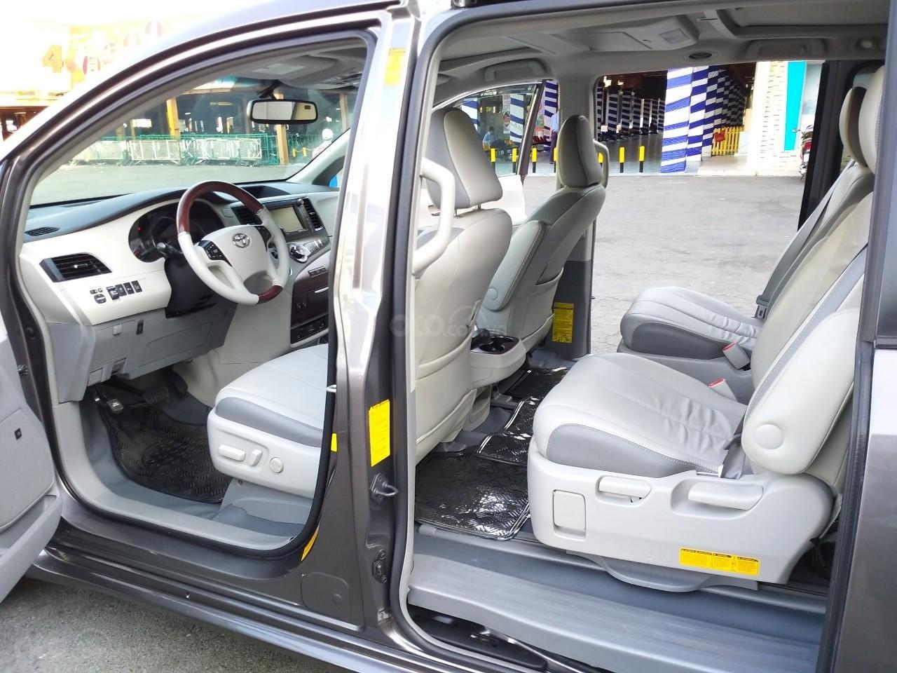 Toyota Sienna hàng Limited model 2014, màu xám, nhập khẩu, cực mới, 2tỷ 490tr-10