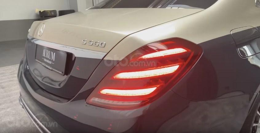 Mercedes-Maybach S560 4Matic 2019 - đuôi xe