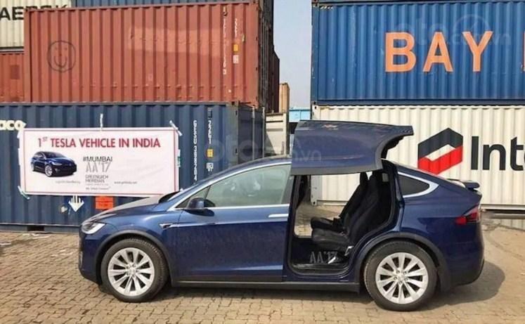 Chiếc Tesla Model X đầu tiên ở Ấn Độ