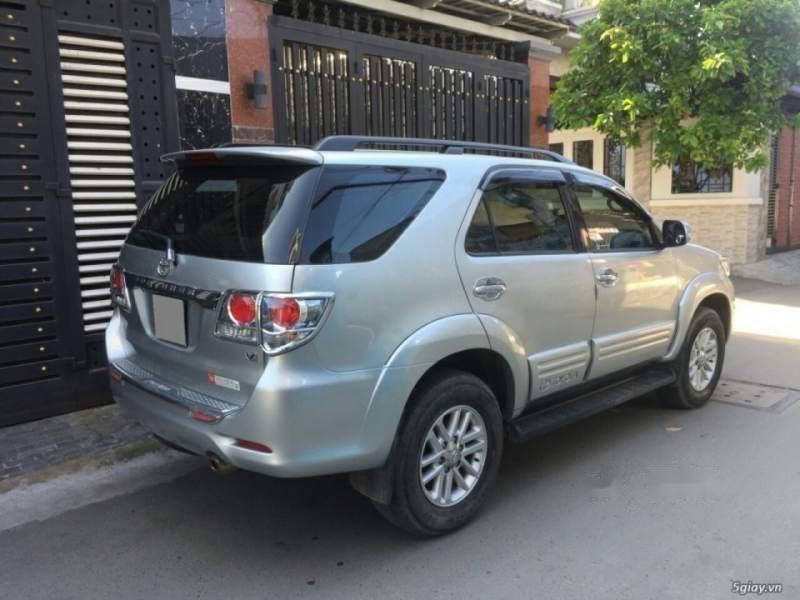 Cần bán Toyota Fortuner năm 2014, màu bạc còn mới, giá tốt (1)