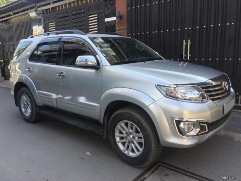 Cần bán Toyota Fortuner năm 2014, màu bạc còn mới, giá tốt (5)