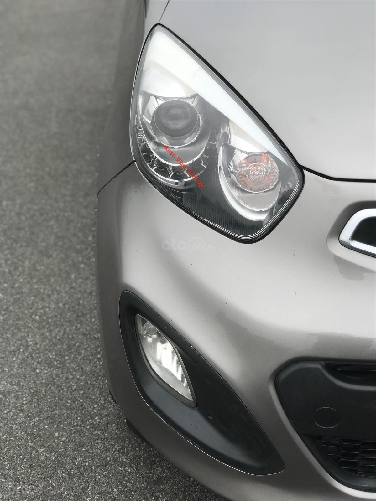 Cần bán xe Kia Morning 1.0AT 2011, màu xám (ghi), xe nhập-2