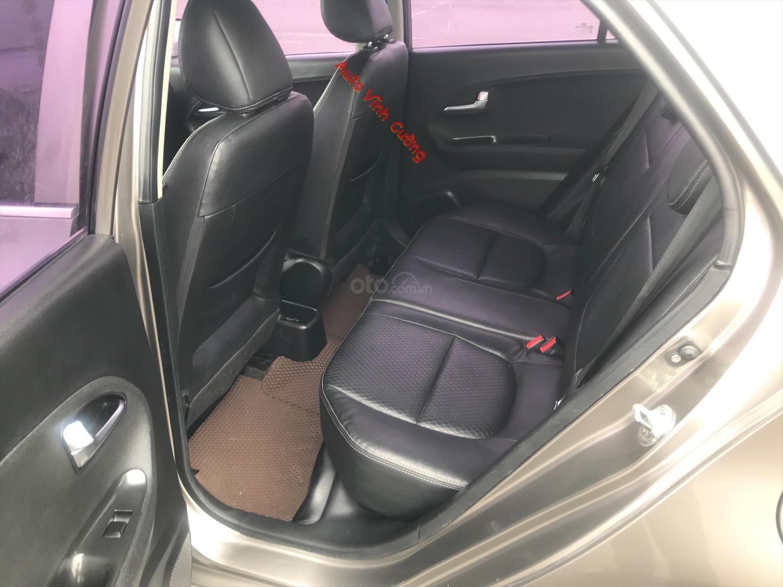 Cần bán xe Kia Morning 1.0AT 2011, màu xám (ghi), xe nhập-12