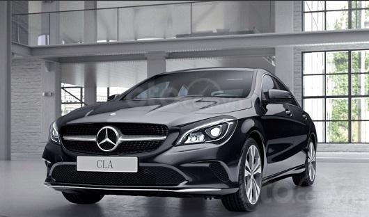 Giá xe Mercedes-Benz CLA-Class mới nhất